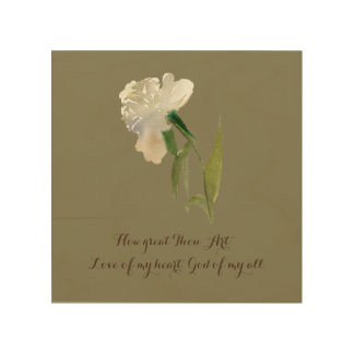How great Thou Art... Wood Wall Decor