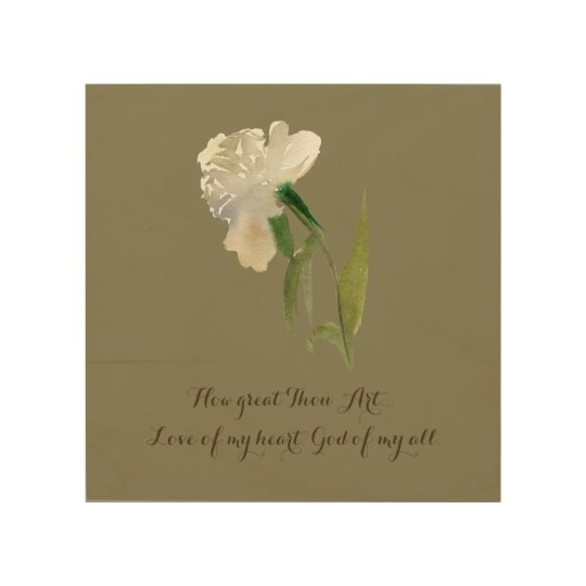 How great Thou Art Wood Wall Decor