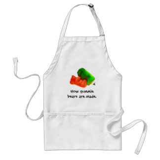 , How gummie bears are made. Standard Apron