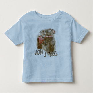 How I Roll - ATC Trike Three Wheeler Toddler T-Shirt