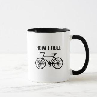 How I Roll Bicycle Mug