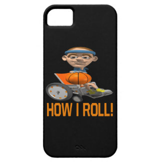How I Roll iPhone 5 Case