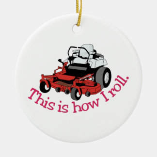 How I Roll Christmas Ornament