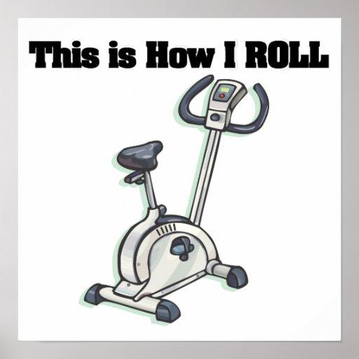 How I Roll (Exercise Bike) Print