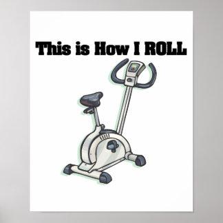 How I Roll (Exercise Bike) Poster