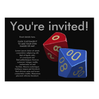 How I Roll, invitation