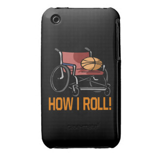 How I Roll iPhone 3 Case-Mate Case