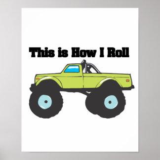 How I Roll (Monster Truck) Poster