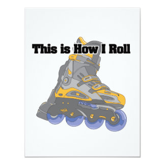 How I Roll (Roller Blades/Inline Skates) Announcements