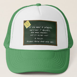 How I See Math Word Problems - Funny Hat