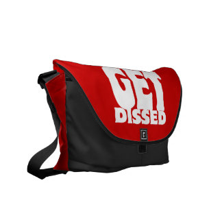 How Many Emcees Must Get Dissed Courier Bag