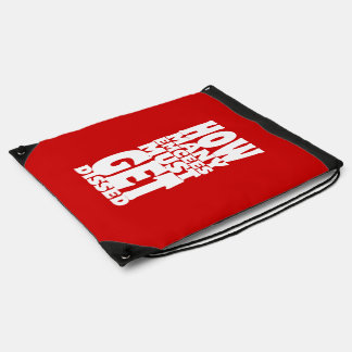 How Many Emcees Must Get Dissed Drawstring Backpack