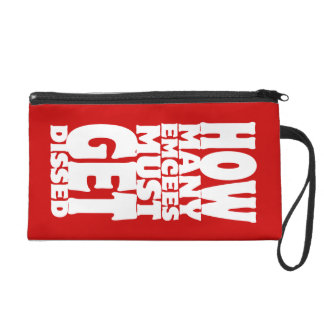How Many Emcees Must Get Dissed Wristlet Purses