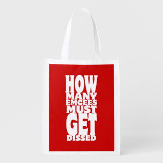 How Many Emcees Must Get Dissed Market Totes