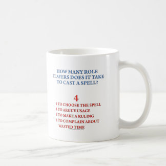 How Many Players to Cast a Spell Coffee Mug