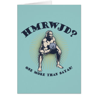 How Many Reps? Greeting Card