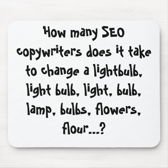 How many SEO copywriters does it take to