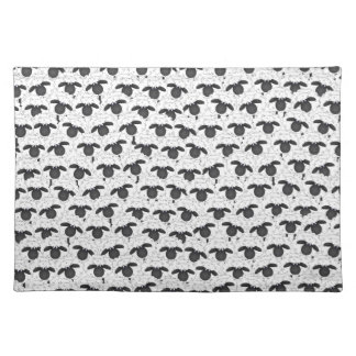 How many sheep? placemat