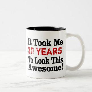 How Many Years to Awesome Two-Tone Coffee Mug
