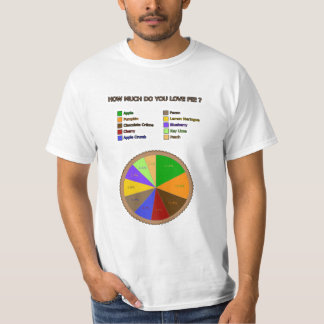How much do you love pie ? T-Shirt