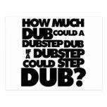 How Much Dubstep? Postcard