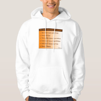 How Not To Succeed in Football Hoodie
