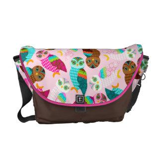 How Now Little Owls? Messenger Bag