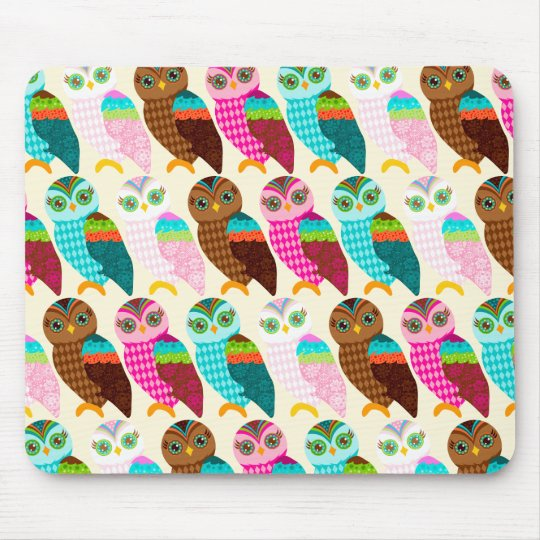 How Now Little Owls? Mouse Pad