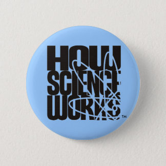 How Science Works: The Film and Video Competition 6 Cm Round Badge