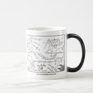 How scientists see the world [LEFT HANDED] Morphing Mug