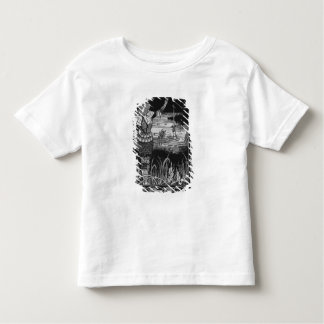How Sir Bedivere Cast the Sword Excalibur Toddler T-Shirt