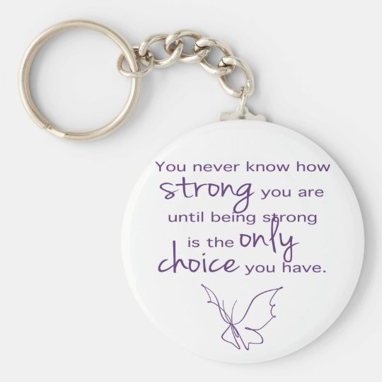 How Strong Butterfly Key Ring