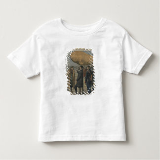 How the air conquerors are welcomed in France Toddler T-Shirt