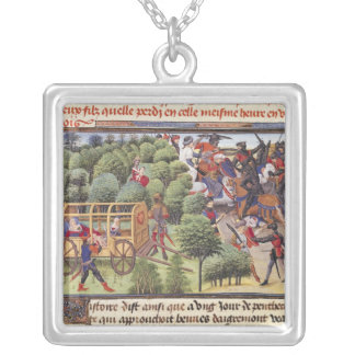 How the Duchess of Aigremont gave birth Silver Plated Necklace