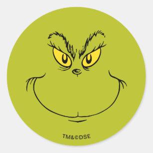 Grinch Stickers Labels Zazzle Uk