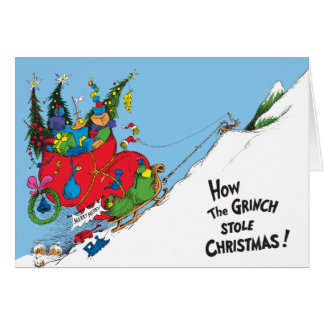 How the Grinch Stole Christmas! Greeting Card