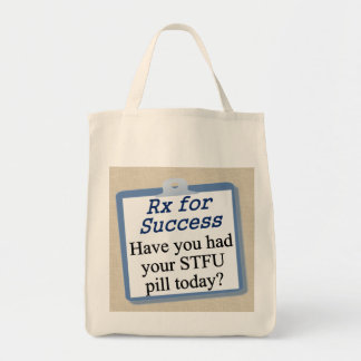 How to be successful bag