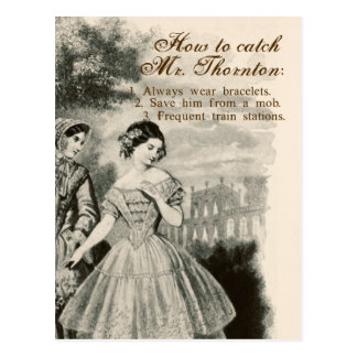 How to Catch Mr. Thornton Postcard