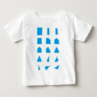 How to fold a Paper Aeroplane Instructions Baby T-Shirt