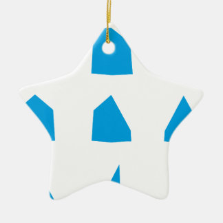 How to fold a Paper Aeroplane Instructions Ceramic Star Decoration