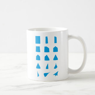 How to fold a Paper Aeroplane Instructions Coffee Mug