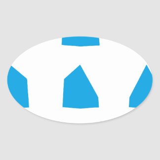 How to fold a Paper Aeroplane Instructions Oval Sticker