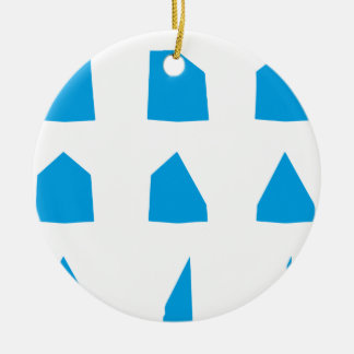 How to fold a Paper Aeroplane Instructions Round Ceramic Decoration