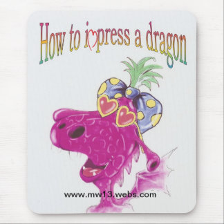 How to impress a dragon official product mouse mat