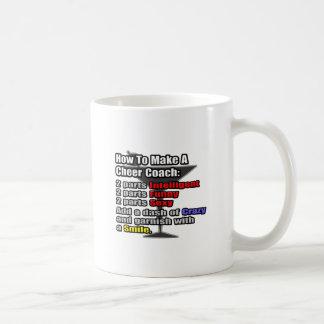 How To Make a Cheer Coach Coffee Mugs