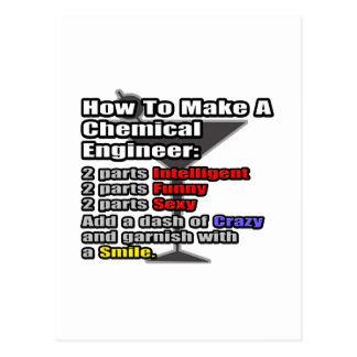How To Make a Chemical Engineer Post Card