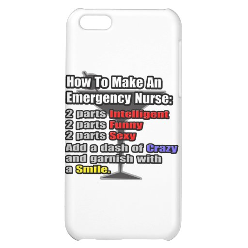 How To Make a Emergency Nurse iPhone 5C Cover
