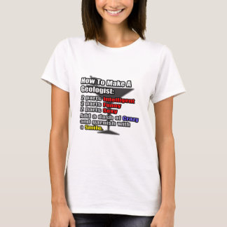 How To Make a Geologist T-Shirt