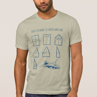 How to Make a Paper Airplane Graphic Tee