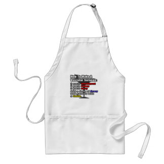 How To Make a Vascular Surgeon Adult Apron